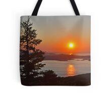 Cadillac Sunrise Tote Bag