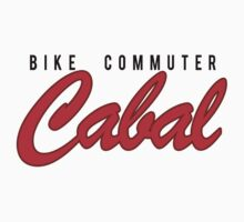 Cabal Retro Baseball T by Bike Commuter Cabal