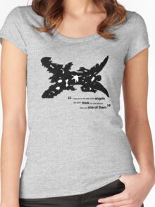One Of The Better Angels Women's Fitted Scoop T-Shirt