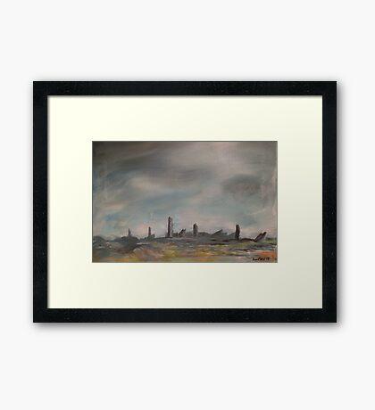 Sentinels Framed Print