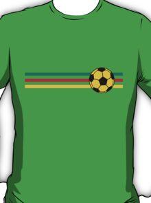 Football Stripes Cameroon T-Shirt