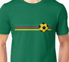 Football Stripes Cameroon Unisex T-Shirt