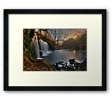 Glyneath Waterfall Framed Print