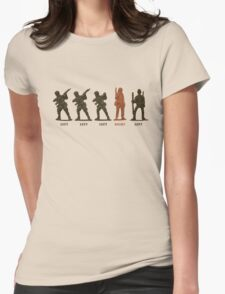 Left,Right, Left Womens Fitted T-Shirt