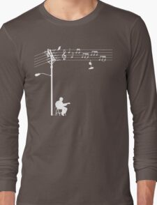 Wired Sound - White Long Sleeve T-Shirt