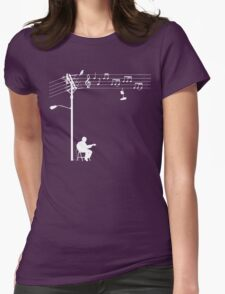 Wired Sound - White Womens T-Shirt
