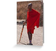 Casual Kenyan Greeting Card