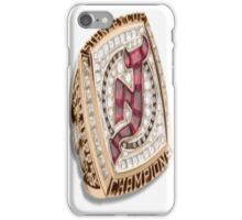 New Jersey Devils Stanley Cup Ring iPhone Case/Skin
