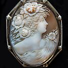 1880 Antique Shell Cameo by Heather Friedman