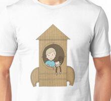 Cardboard kid Rocket (Little Stars Collection) Unisex T-Shirt