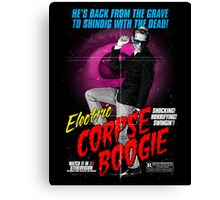 Electric Corpse Boogie Canvas Print