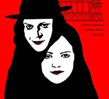 The white stripes poster design  by JaySawyerdesign