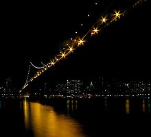 Manhattan Bridge NYC by fernblacker
