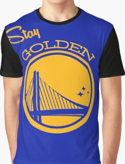 Golden Stay Graphic T-Shirt