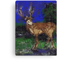 Reindeer for Xmas Canvas Print