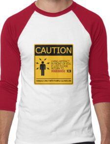 If lost return to warehouse 13 Men's Baseball ¾ T-Shirt