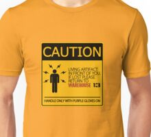 If lost return to warehouse 13 Unisex T-Shirt