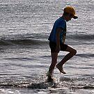 Boy on a beach.........! by Roy  Massicks