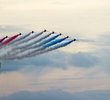 Red Arrows by Johindes