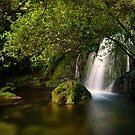 Whataroa Hidden Fall by Ken Wright