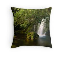 Whataroa Hidden Fall Throw Pillow