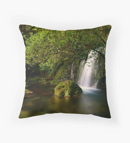Whataroa Hidden Fall Throw Pillow