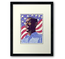 Obama Painting Framed Print
