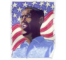 Obama Painting Poster