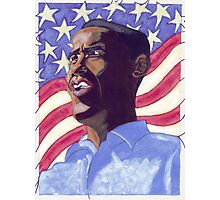 Obama Painting Photographic Print