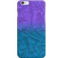 Gradient Paper iPhone Case/Skin