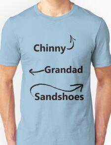 """My associates, Grandad and Sandshoes"" Unisex T-Shirt"