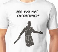 Movies - Gladiator - are you not entertained - light Unisex T-Shirt