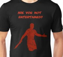 Movies - Gladiator - are you not entertained - dark Unisex T-Shirt