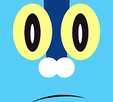 Froakie Face by Cameron Bash