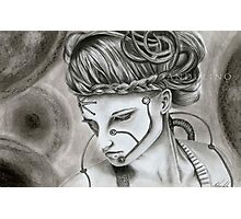 Oblivion drawing Photographic Print