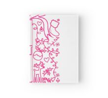 Merry Christmas! Doodle - Xmas Gift Hardcover Journal