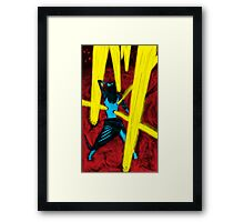 Light Euphoria 1980s  Framed Print