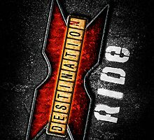 DESTINATION X RIDE LOGO — ROUGH ROAD by DESTINATIONX