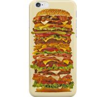 super hamburger iphone case iPhone Case/Skin