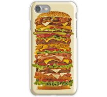 super hamburger iphone case iPhone Case/Skin