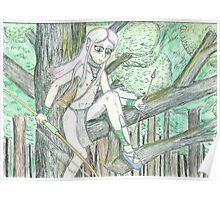 Elven Hunter Poster