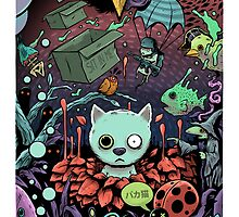 Catnip Cat by Jorge Tirado