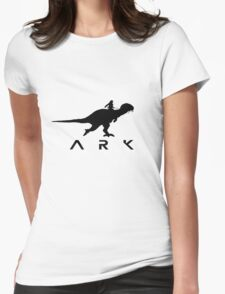 Ark dino Survival evolved Womens Fitted T-Shirt