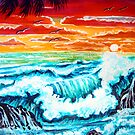 breaking waves by LoreLeft27