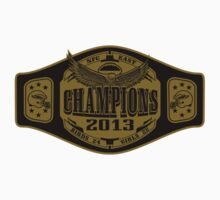 NFC East Championship Belt by Joe Dugan