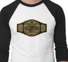 NFC East Championship Belt Men's Baseball ¾ T-Shirt