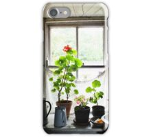 Still Life with Geraniums II iPhone Case/Skin