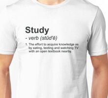 Study Definition Unisex T-Shirt