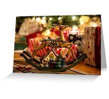 Rockin' Reindeer  Greeting Card