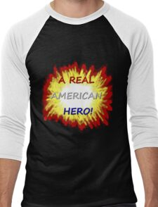 A Real American Hero! Men's Baseball ¾ T-Shirt